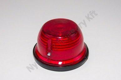 Lámpa szélességjelző kerek piros