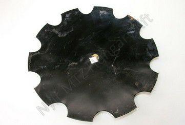 Tárcsalap csipkés 560x30/4 mm