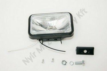 Lámpa fényszóró halogén 80x155