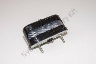 Lámpa rendszám megvilágító műanyag 119x50x62