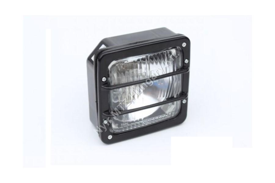 Lámpa fényszóró kocka rácsos COBO