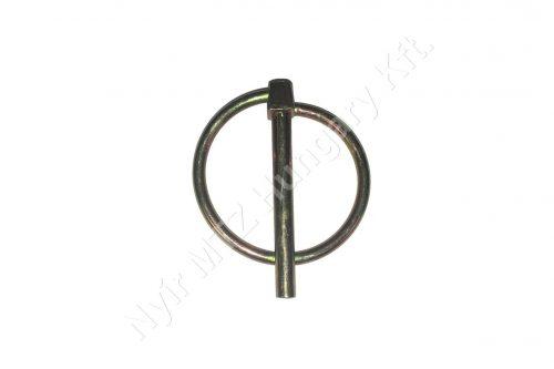 Biztosító csap körrugós 4,5 mm