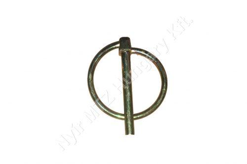 Biztosító csap körrugós 6 mm