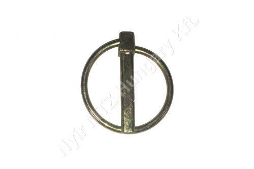 Biztosító csap körrugós 7 mm