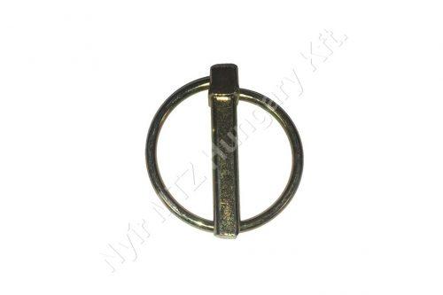 Biztosító csap körrugós 8 mm