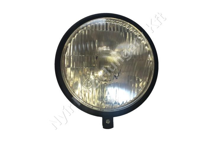 Lámpa fényszóró kerek fém 160 mm beépíthető alsócs
