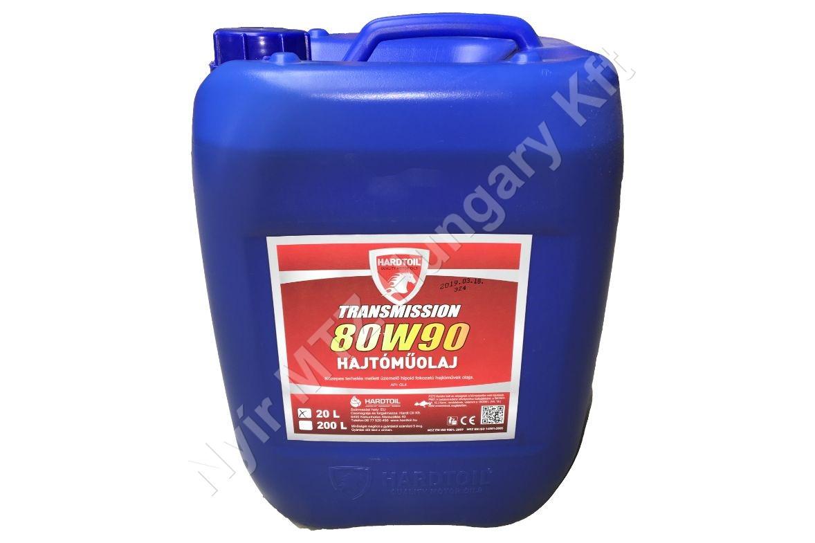 Hajtóműolaj TRANSMISSION 80W90 20L vtsz:27101987